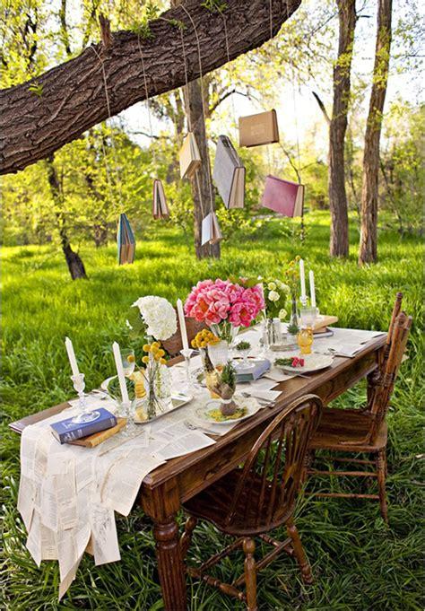 apparecchiare in giardino apparecchiare tavola in giardino