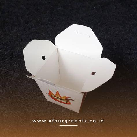 box mie  nasi ayam geprek murah box foodgrade mulai