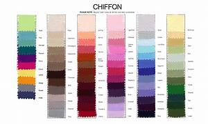 chiffon colour swatch wedding dress pinterest With wedding dress color chart