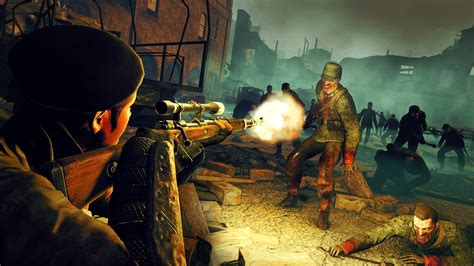 undead zombie trilogy brings army nintendo switch early flames dying hitler war two