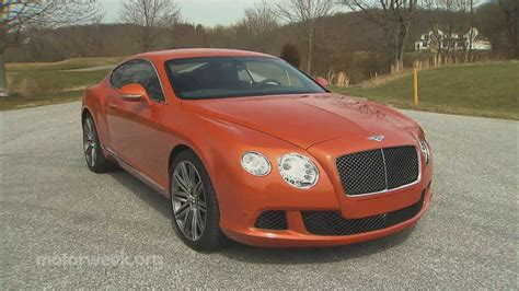 Road Test 2013 Bentley Continental Gt Speed Youtube
