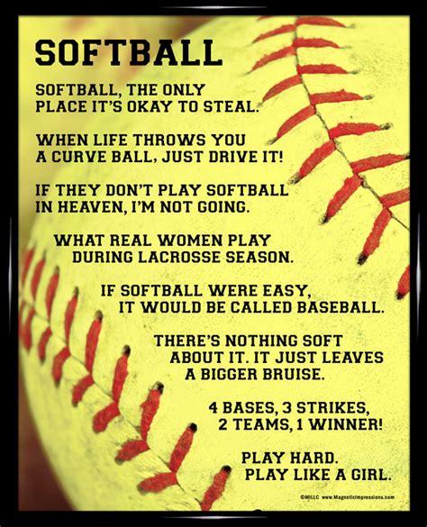 Printable Softball Quotes
