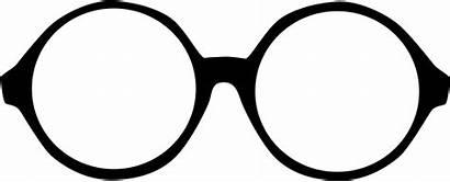 Glasses Clipart Round Clip Sunglasses Shades Kacamata