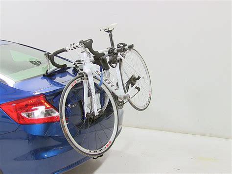 trunk bike rack thule gateway xt 2 bike rack trunk mount adjustable