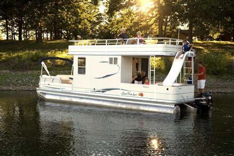deck pontoon boat with slide pontoon houseboat bring back memories i don t