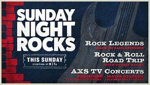 Sunday Night Rocks | April 16th on AXS TV - YouTube