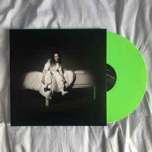 billie eilish    fall asleep     vinyl lp album discogs