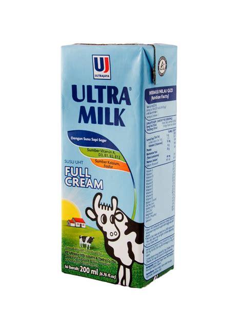 ultra milk slim plain 200ml ultra uht steril slim plain tpk 200ml klikindomaret