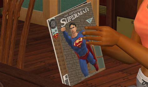 Superman Comic Book (games Magazine