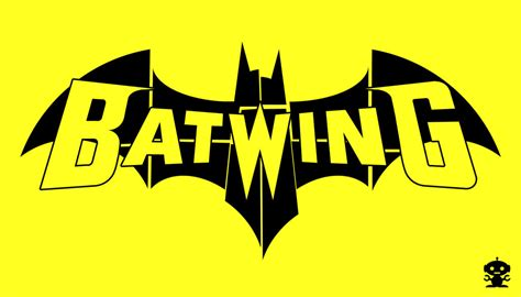 2011 The New 52 Batwing Comic Title Logo By