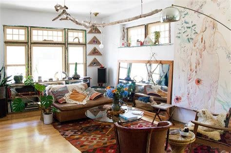 Bohemian Home Inspired By Organic 1970s Design