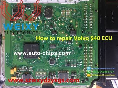 repair volvo  ecu idle throttle valve failure