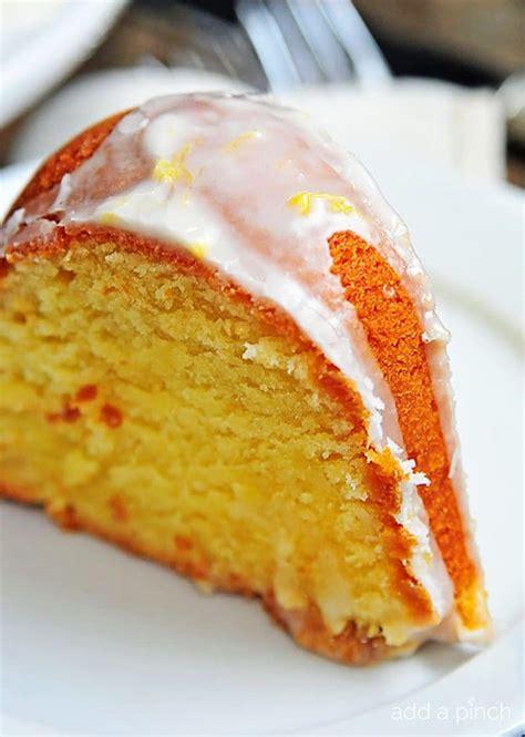lemon bundt cake recipe  scratch