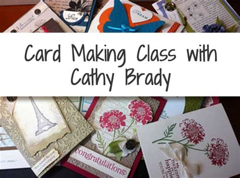 womens card making class st philips episcopal church