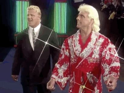 ric flair wrestling gif  wwe find share  giphy