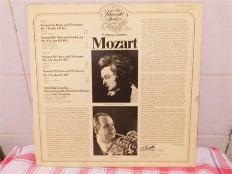 Verkaufe Mozart  Die Hornkonzerte  10,00 Euro