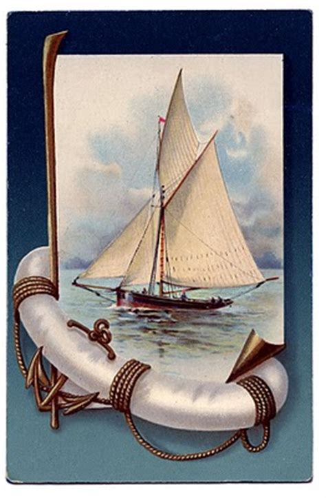 vintage nautical clip art beautiful sailboat