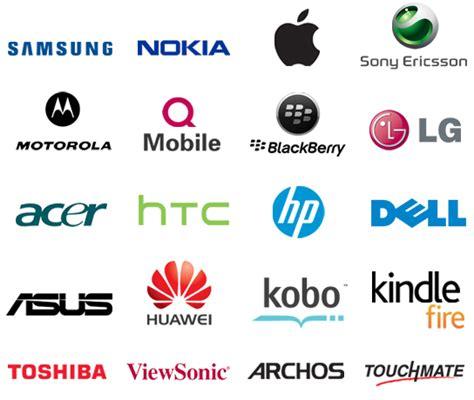 Mobile Phone Brand Logos