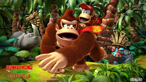 Leave Luck To Heaven Donkey Kong Country Returns ~review~