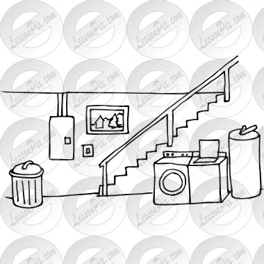 basement clipart black and white basement clipart black and white pencil and in color