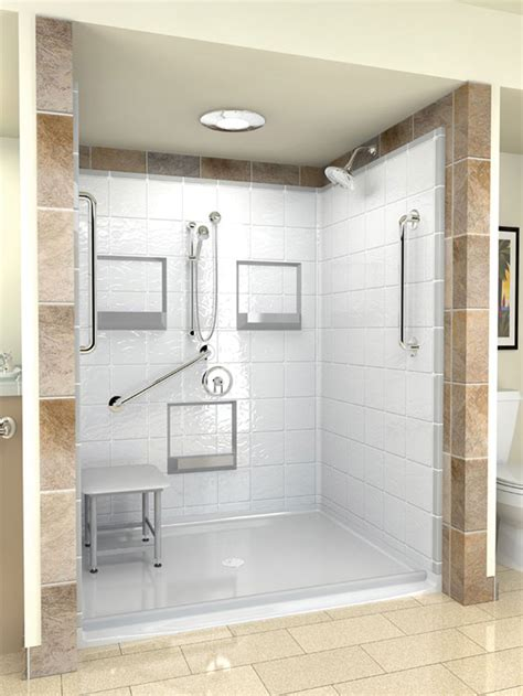 home depot shower enclosures prefab shower home depot handicap showers