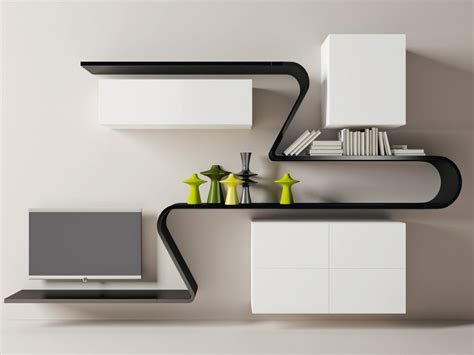 Wall Shelving Ideas With Modern Style Wall