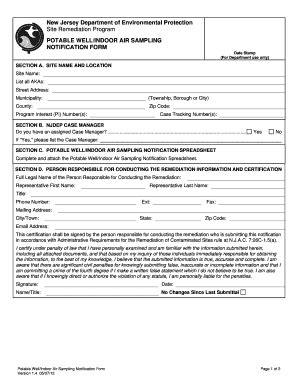air sling notification form fill online printable