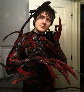 NEW AND IMPROVED CARNAGE SUIT UNMASKED by symbiote-x on ...