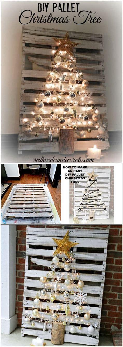 pallet christmas tree ideas  pinterest wooden
