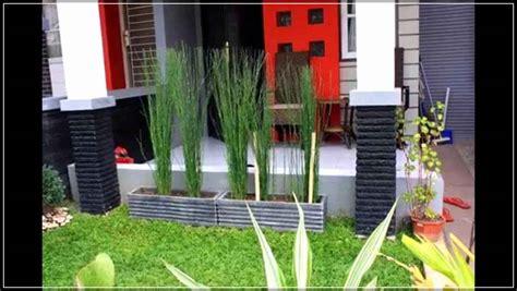konsep desain taman rumah minimalis lahan sempit