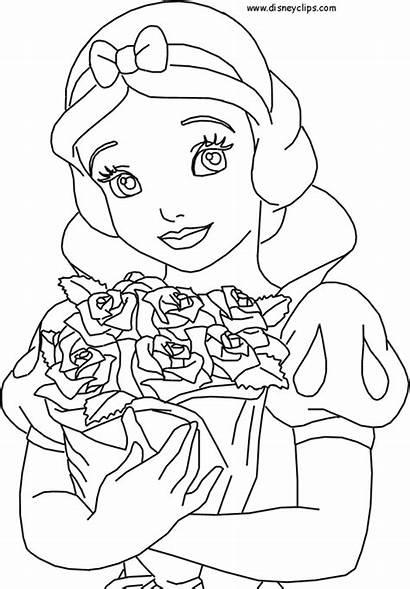 Coloring Snow Disney Princess Fanpop