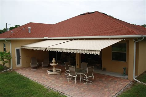 retractable awnings  orlando shade privacy products