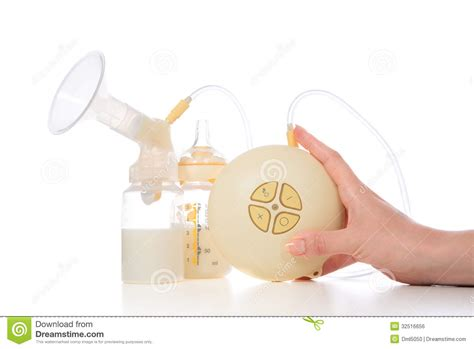 Electric Breast Pump Stock Photo Cartoondealercom 71620848
