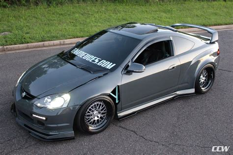grigio telesto acura rsx ccw lm20 three piece forged wheels ccw wheels