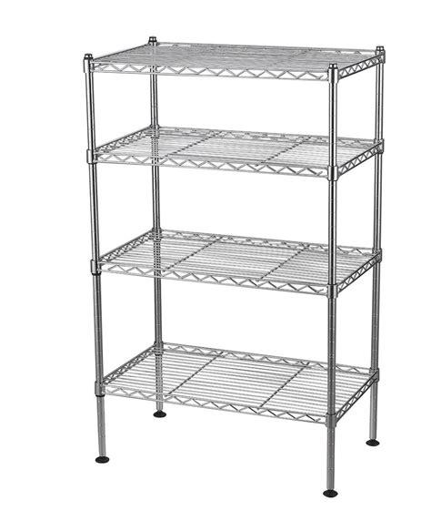 metal storage rack 4 tier wire shelving rack metal shelf adjustable unit