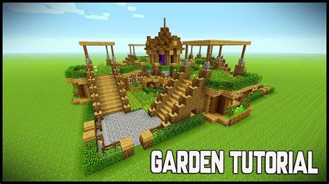 Garden Decoration Minecraft by Minecraft Beautiful Garden Garden Decoration Ideas