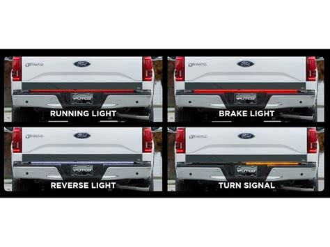 putco led tailgate light bar putco switchblade led tailgate light bars sharptruck com