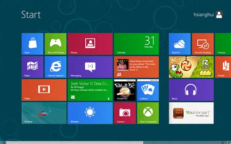 First Look At Win8 Consumer Preview