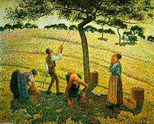 Eragny Art De Vivre : cueillette de pommes eragny sur epte huile sur toile de ~ Dailycaller-alerts.com Idées de Décoration