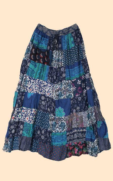 health pride patchwork skirts