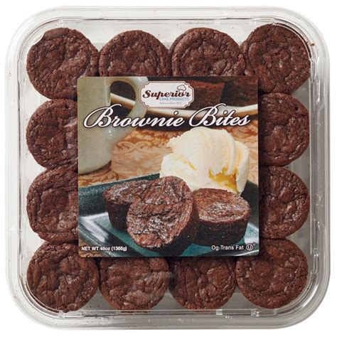 Superior Cake Products Brownie Bites from Costco - Instacart
