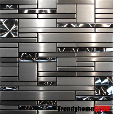 metal tiles for backsplash 25 best ideas about stainless steel backsplash tiles on