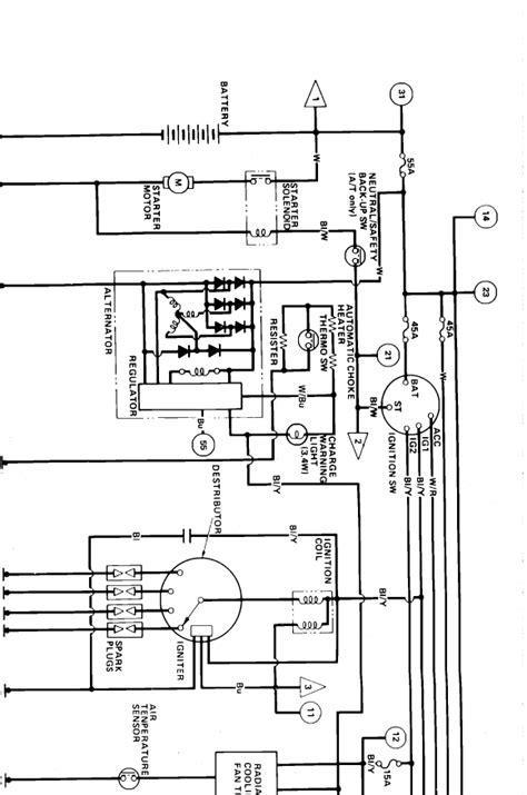 1986 honda civic wiring diagram auto wiring diagrams