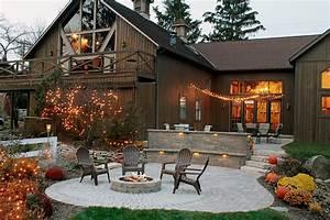 Log Cabin Landscape Ideas Amazing Luxury Home Design