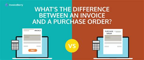 whats  difference   purchase order