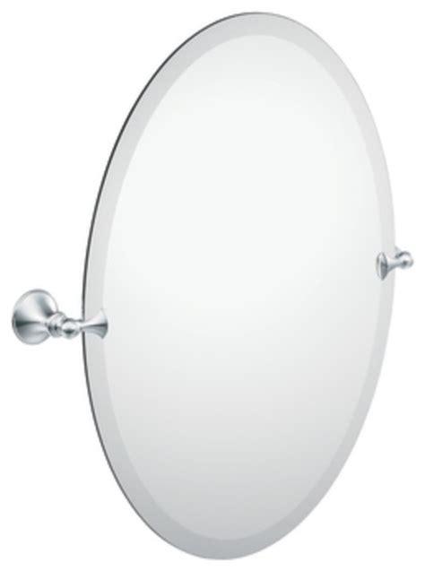 Moen Bathroom Mirrors by Moen Dn2692ch Glenshire Oval Tilting Bath Mirror With
