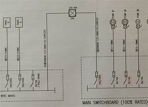 Distribution Line Diagram Question  Why There Is Two