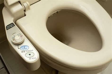 japanese bidet seat controls of a japanese washlet 5378 stockarch free stock