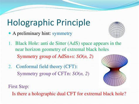 PPT - Holographic Duals of Extremal Black Holes PowerPoint ...
