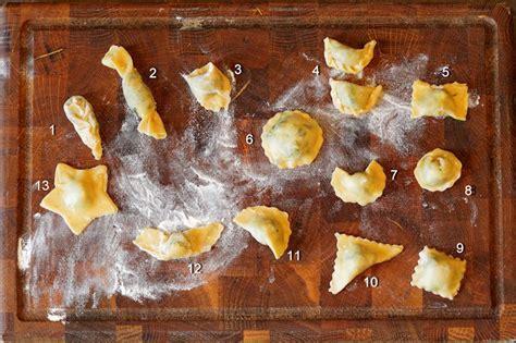 fabrication des raviolis p 226 te farces formes cuisson